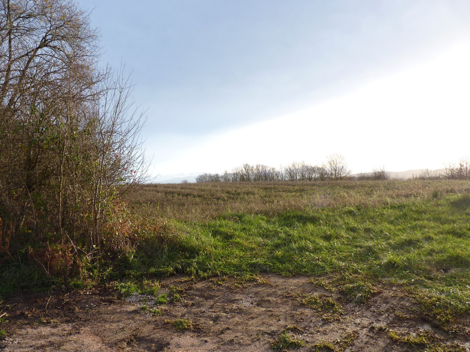 In Aurignac, building plot of 1048 m² with countryside views