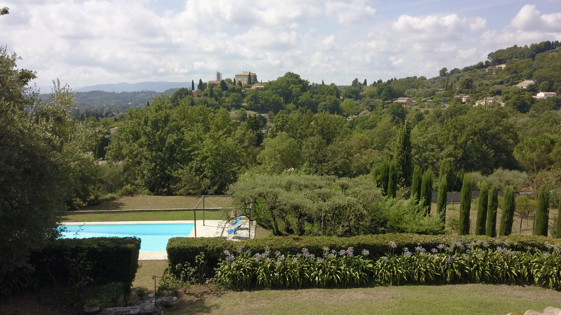Provencal Family Villa with Village Views