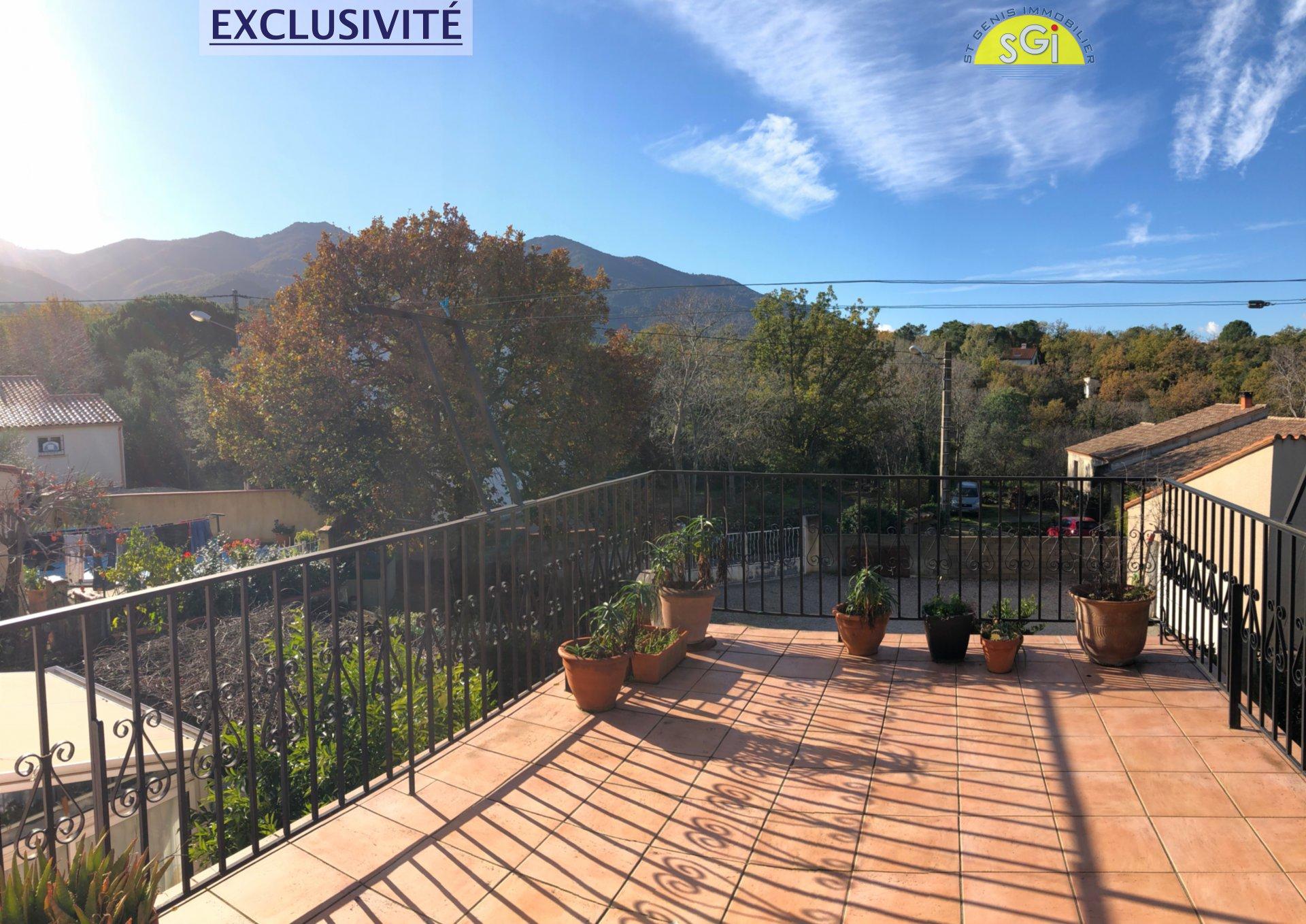 Villa 4 Faces avec vue sur les Albères et le Canigou