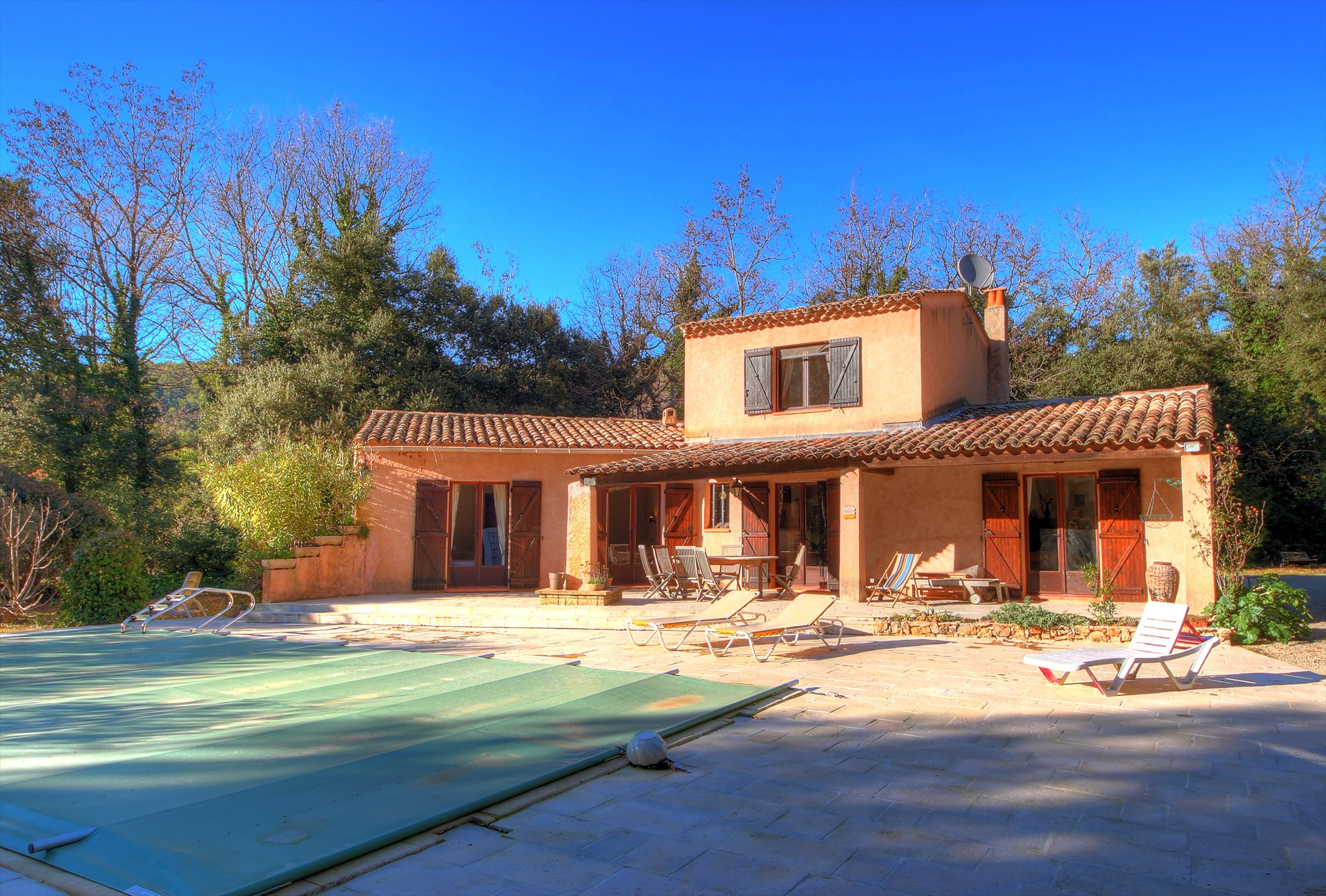 Villa with swimming pool Salernes