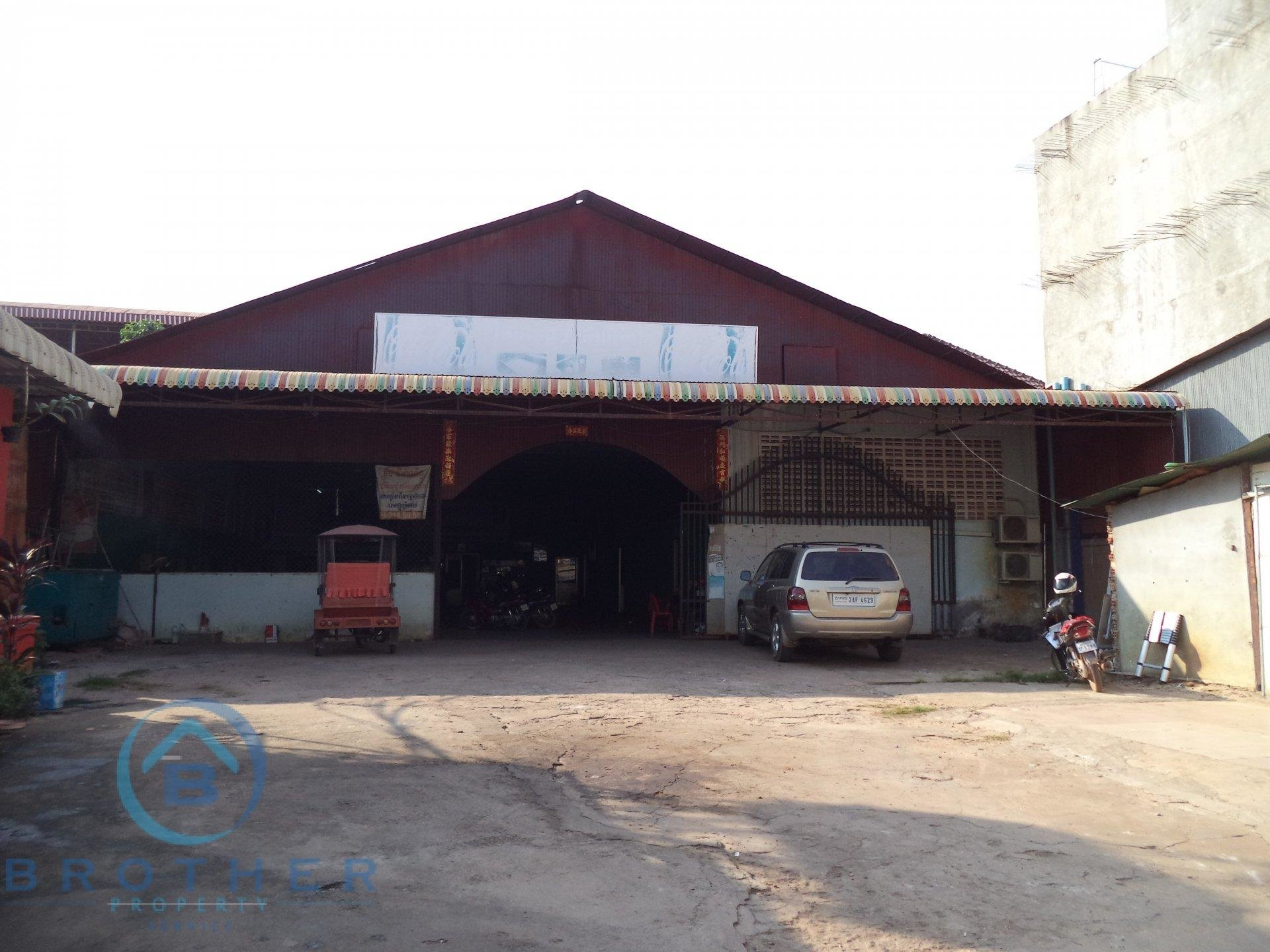 Land &shop for Rent in Siam Reap Town