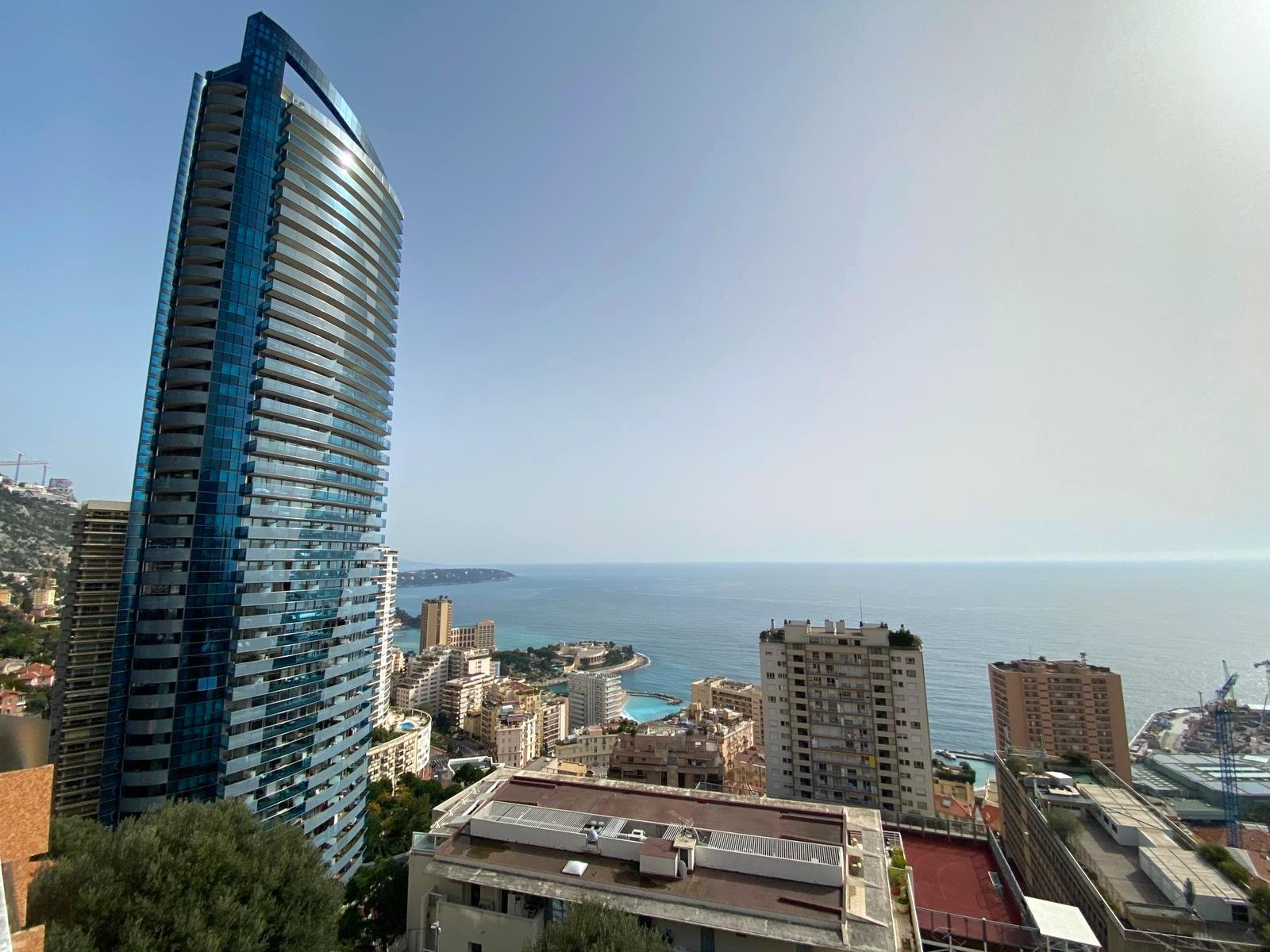 BEAUSOLEIL/FRONTIERE MONACO : 5/6-room apartment - sea view - solarium