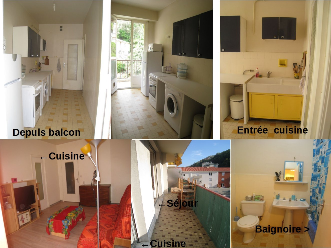 EXCLUSIVITE / Spacieux T1 Nice Ouest