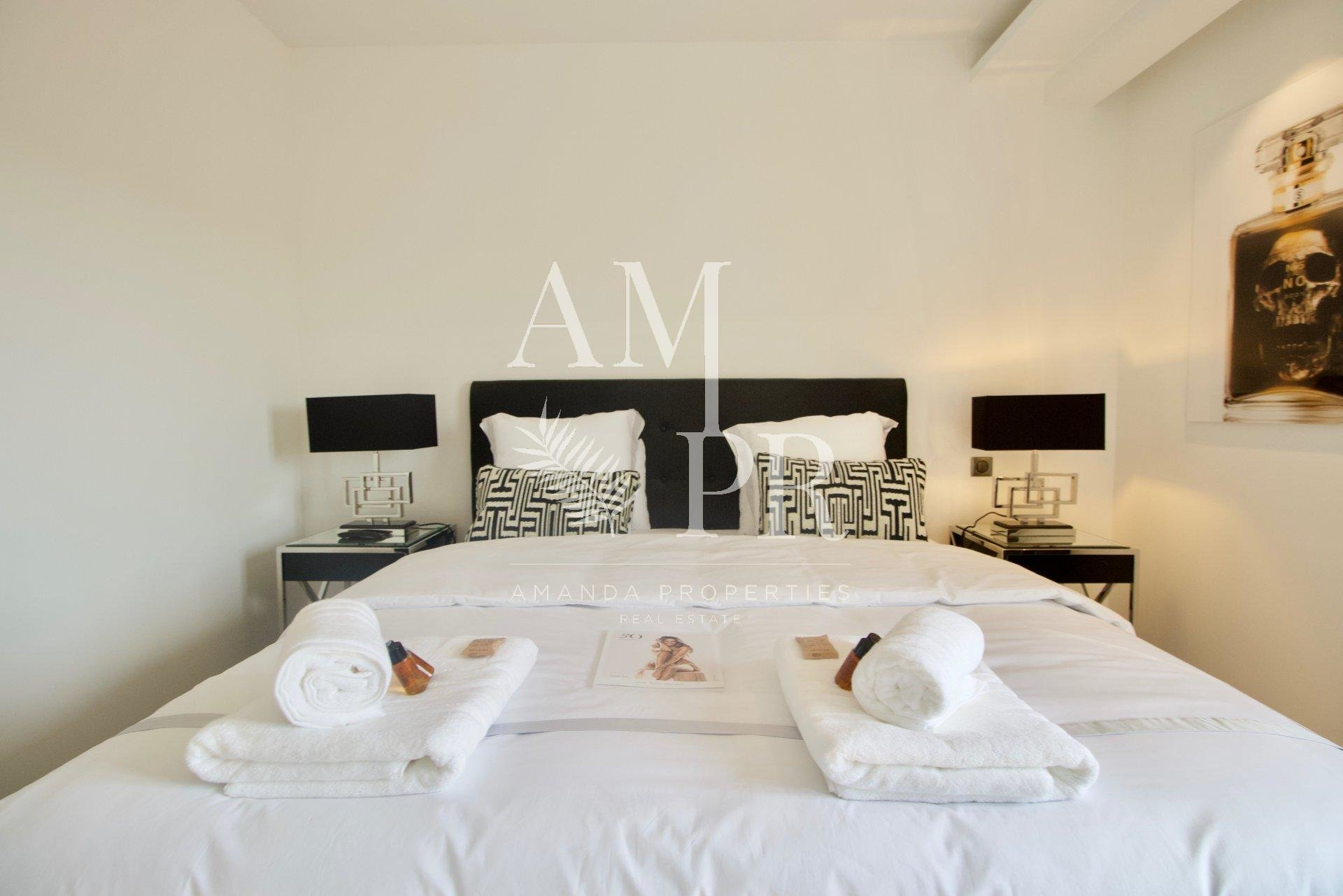 Luxuous Modern Apartment 8 people Cannes Downtown Congresses/Vacation