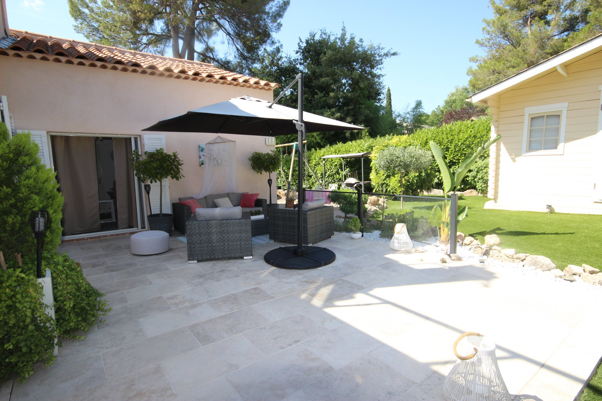 MOUANS SARTOUX IN CALM ABLOLU MAGNIFICENT VILLA AND DEPENDENCY 10 ROOMS