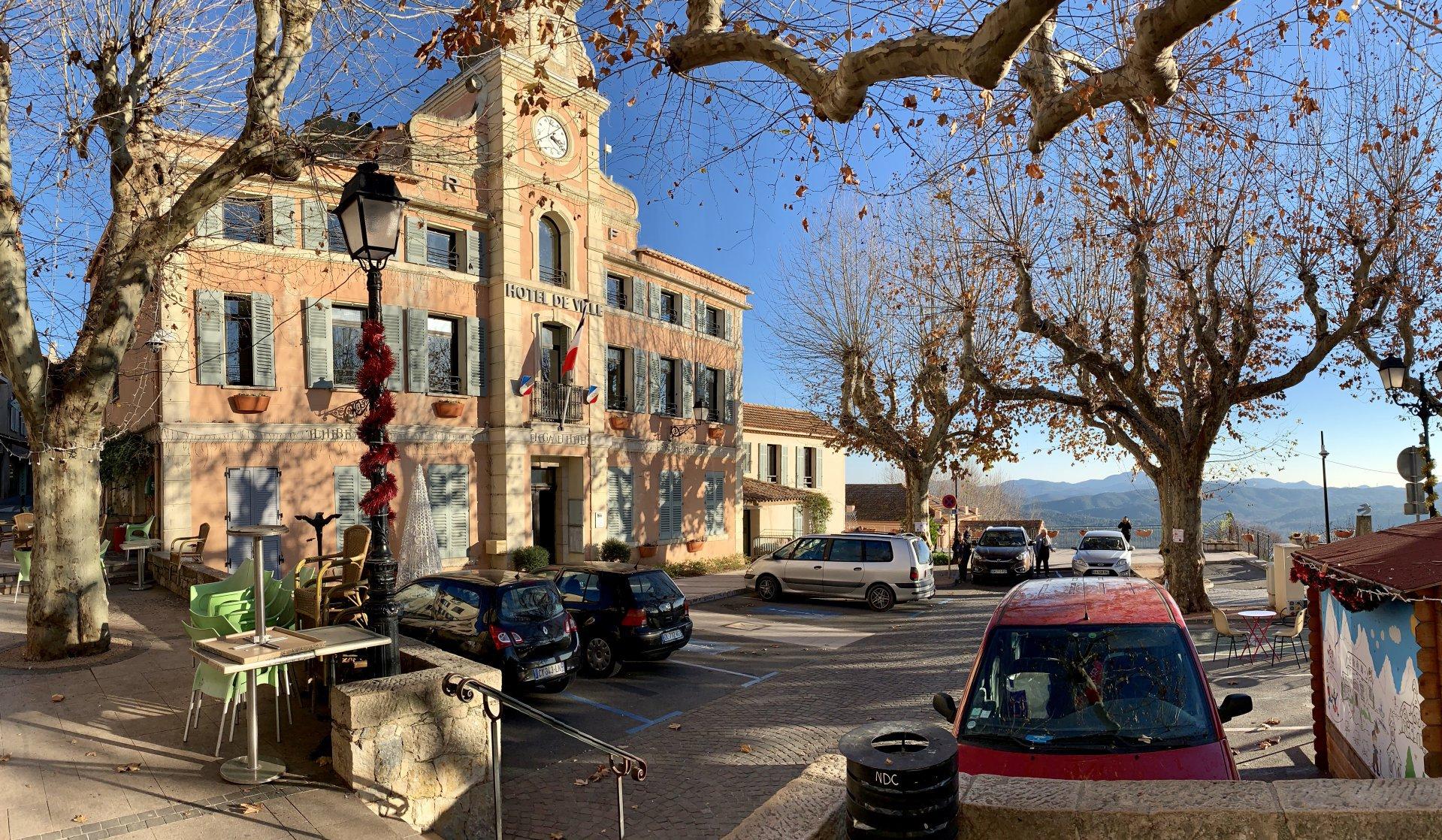 Montauroux, Provençal village at 1500m