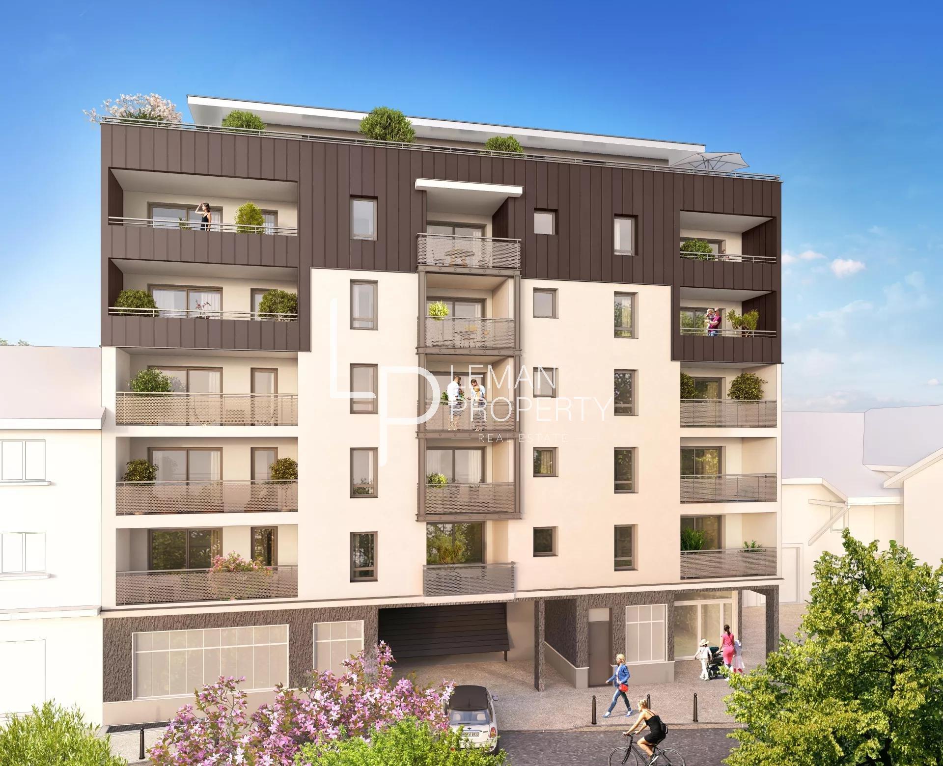 A vendre T3 neuf - Thonon centre-ville