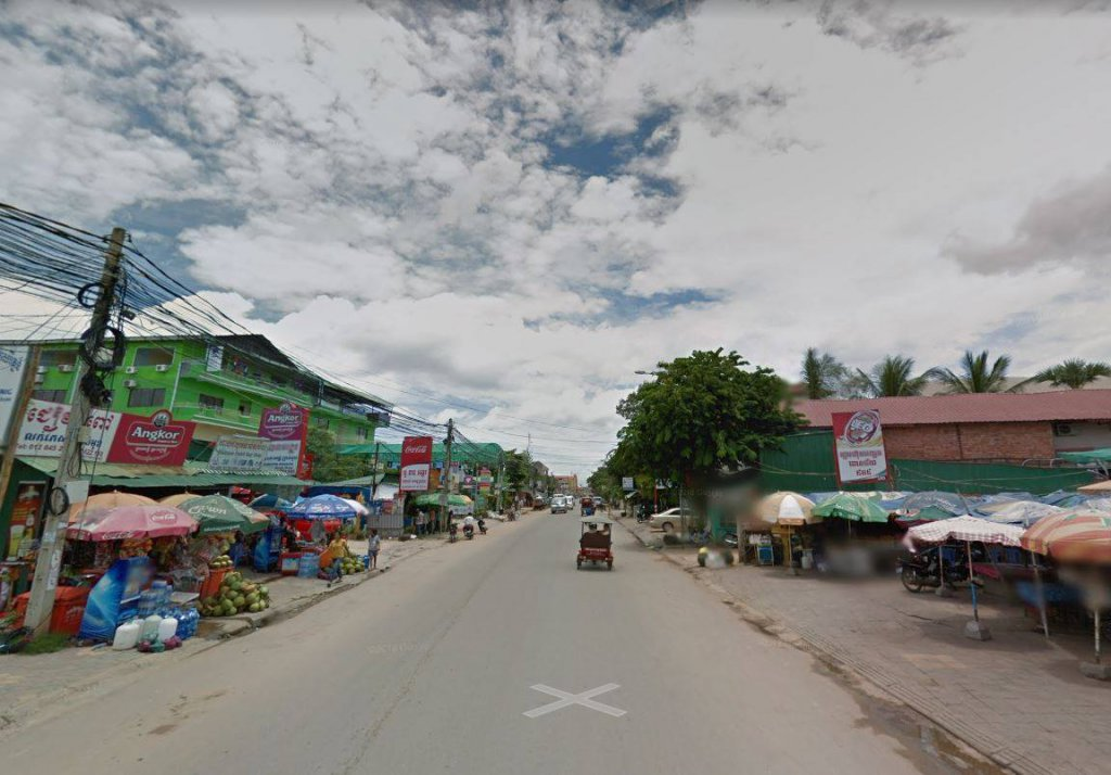 Land for rent location on Phsa Nhe road Siem Reap