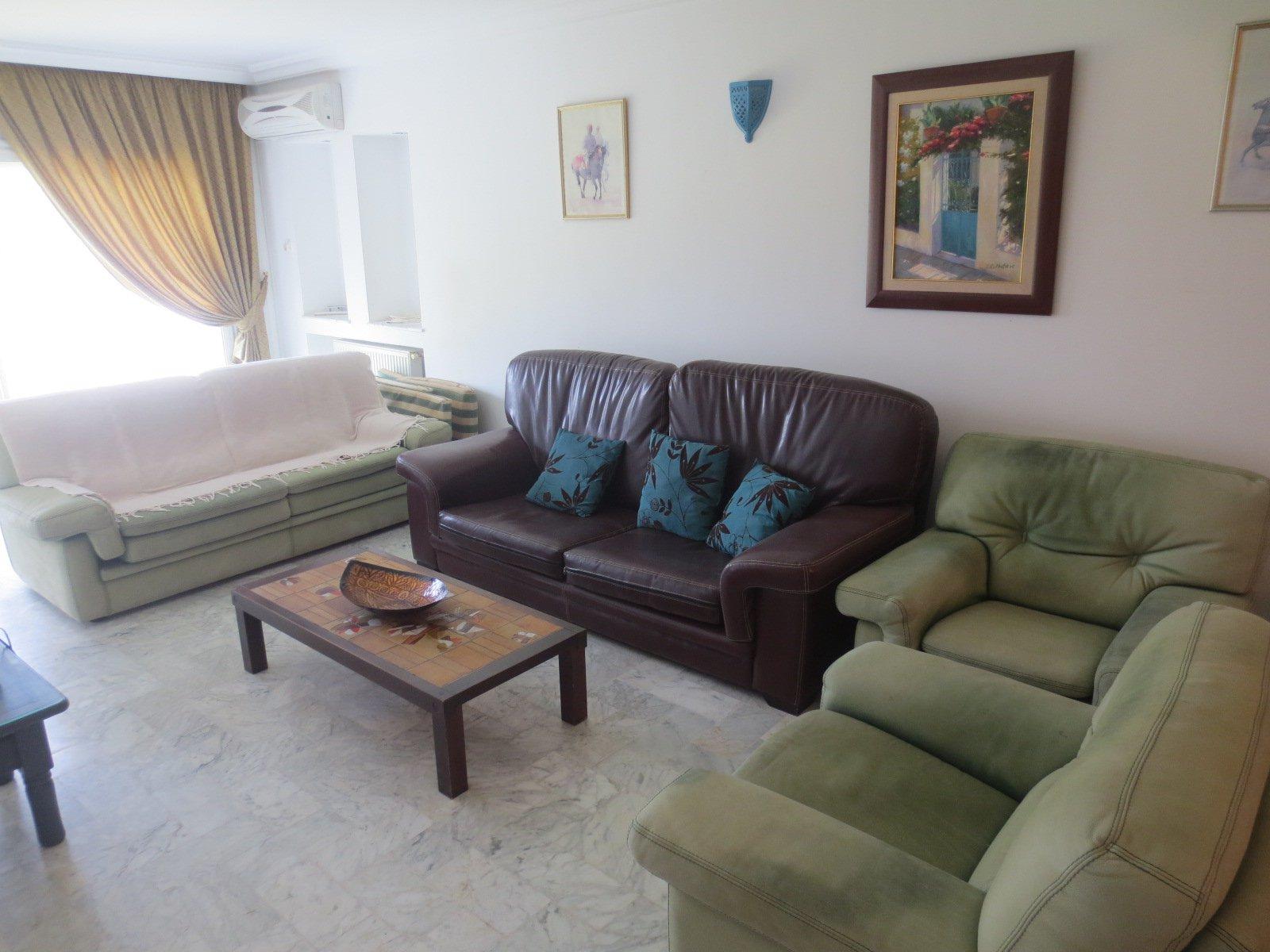 A Louer une villa meublée à Gammarth