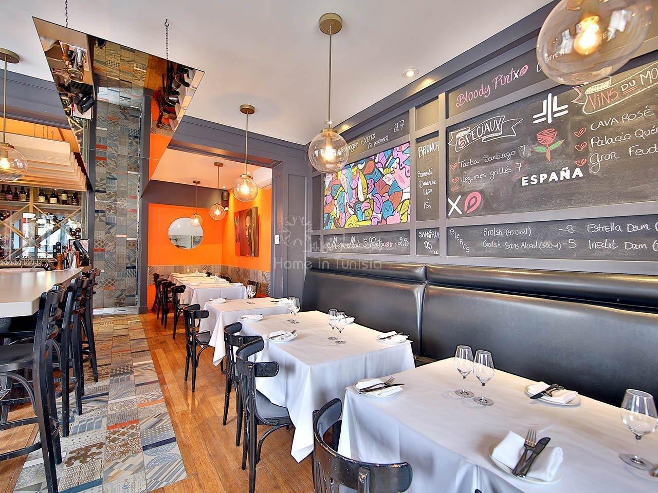 Restaurant Pizzeria zone pietone