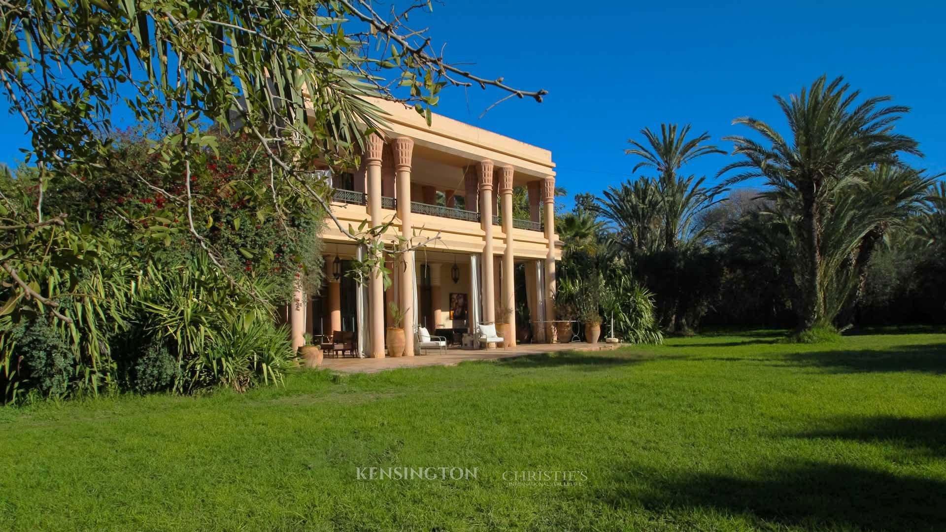 KPPM01131: Villa Allal Luxury Villa Marrakech Morocco