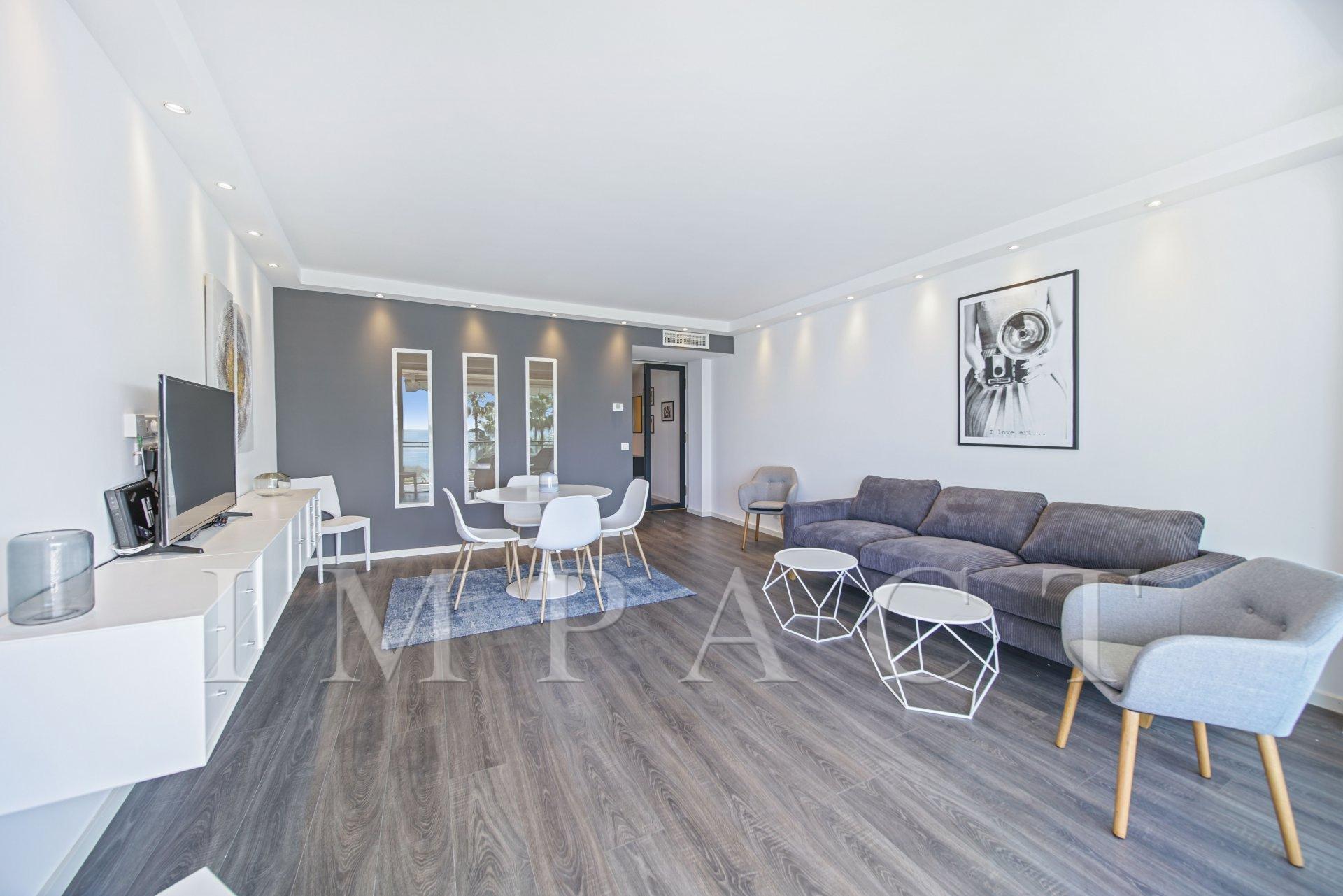 Location saisonnière - Appartement à louer, front de mer, Cannes