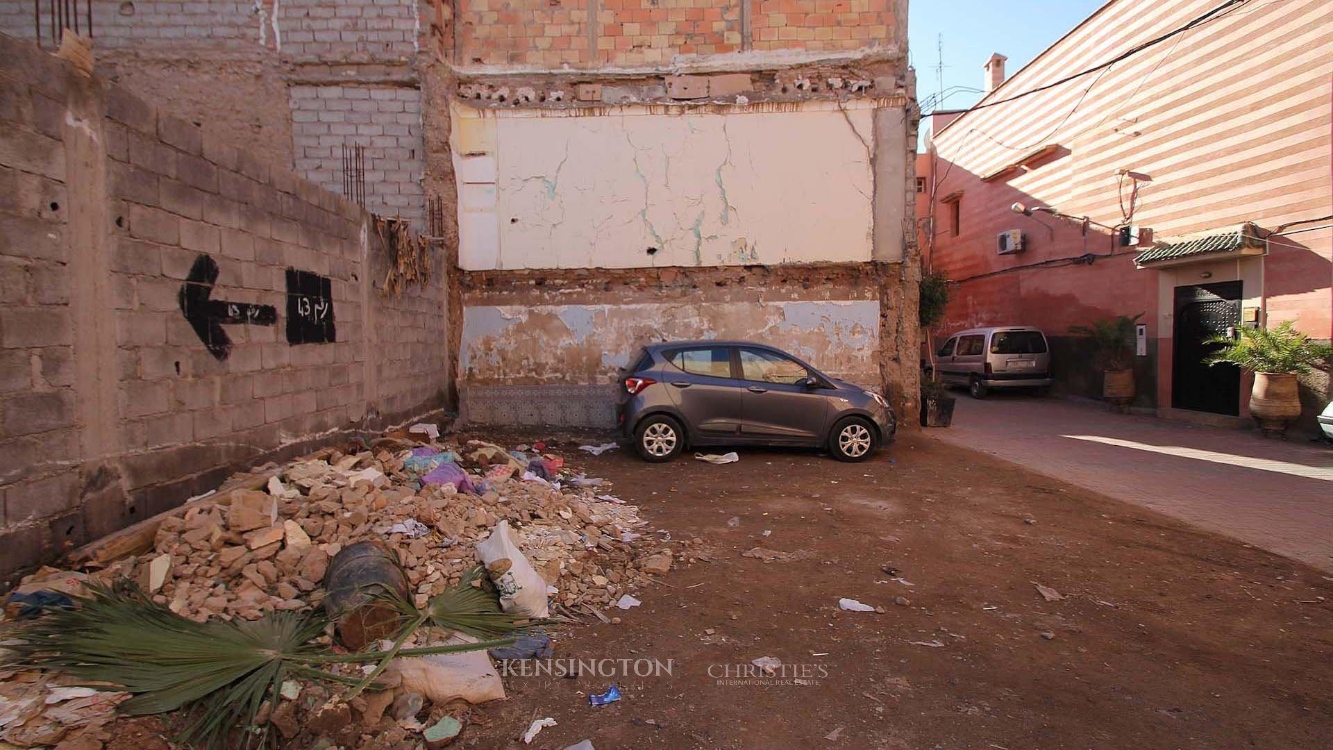 KPPM01134: Plots Bensi Building land Marrakech Morocco