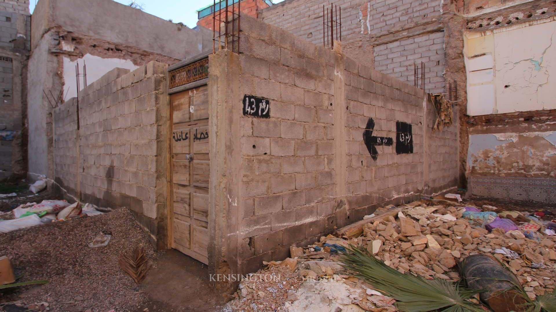 KPPM01134: Terrains Bensi Terrain constructible Marrakech Maroc