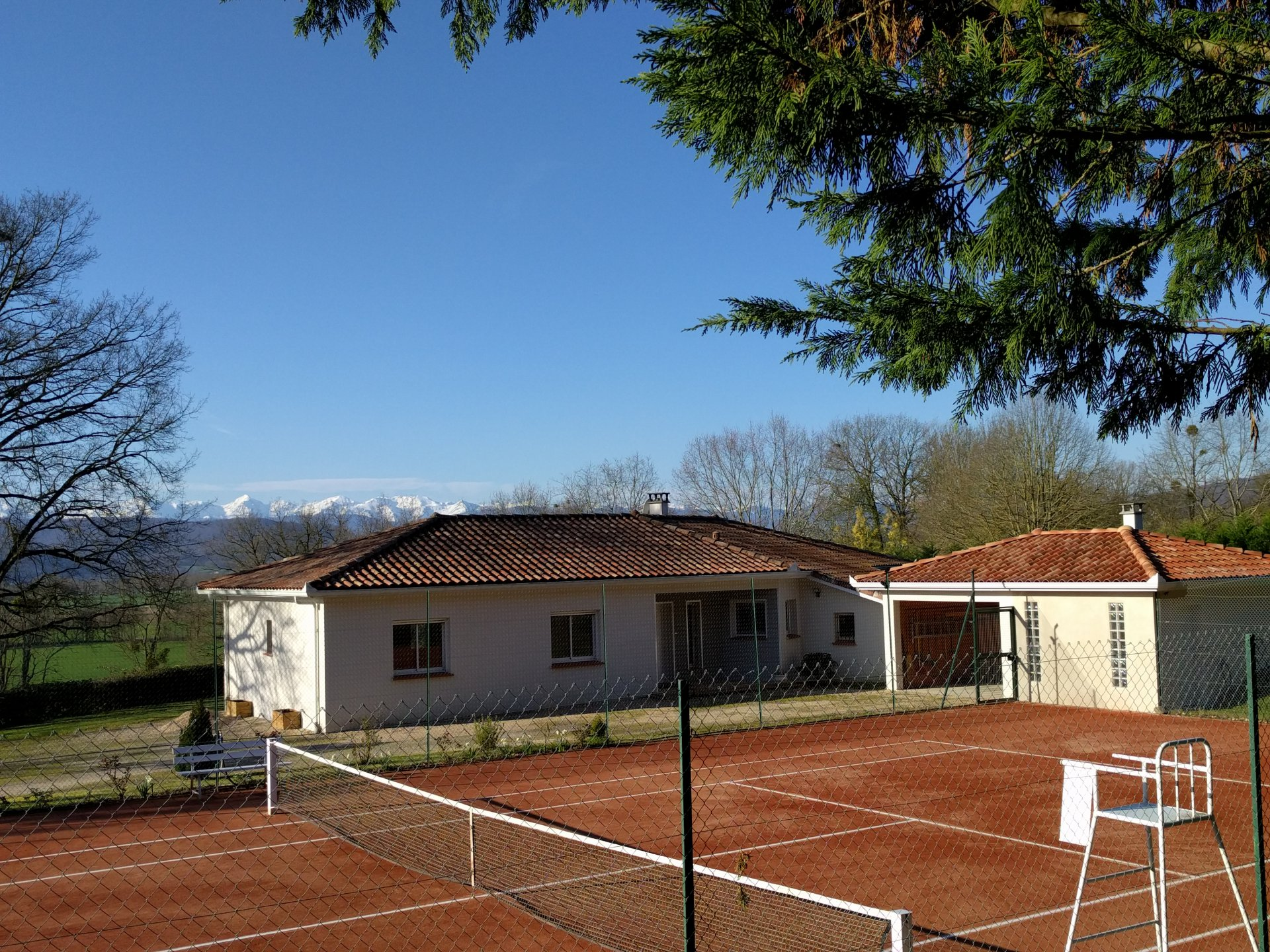 Proximity Martres T., beautiful contemporary T4, breathtaking view Pyrenees
