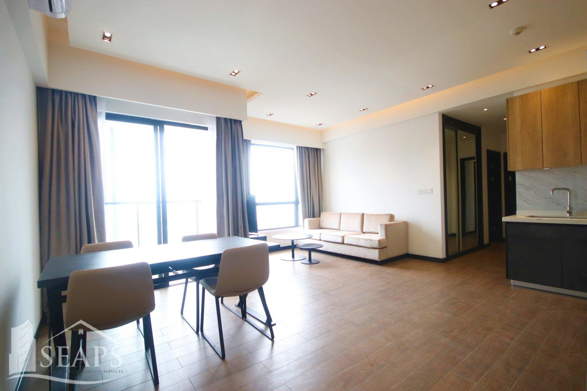 LUXURIOUS 2 BED CONDO- FOR RENT- TONLE BASSAC