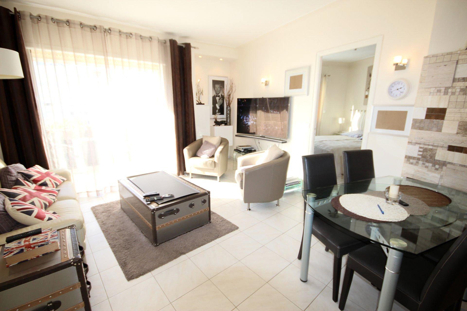 CANNES Sale Apartment 3 rooms near Beach CROISETTE