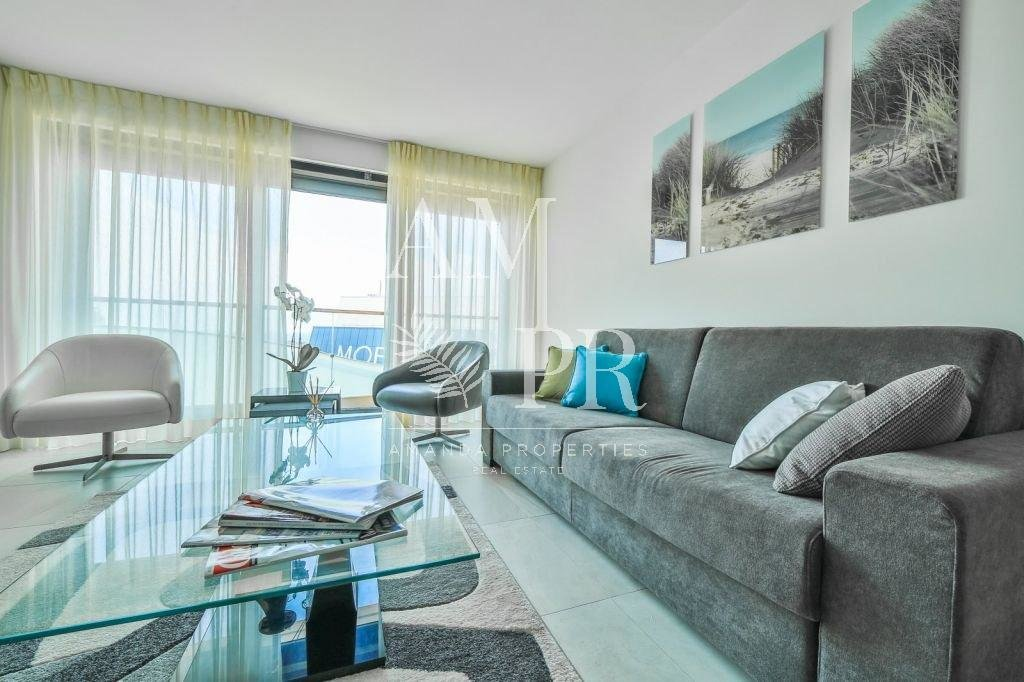 SEASONNAL RENTAL MODERN 2 BEDROOMS CANNES CROISETTE