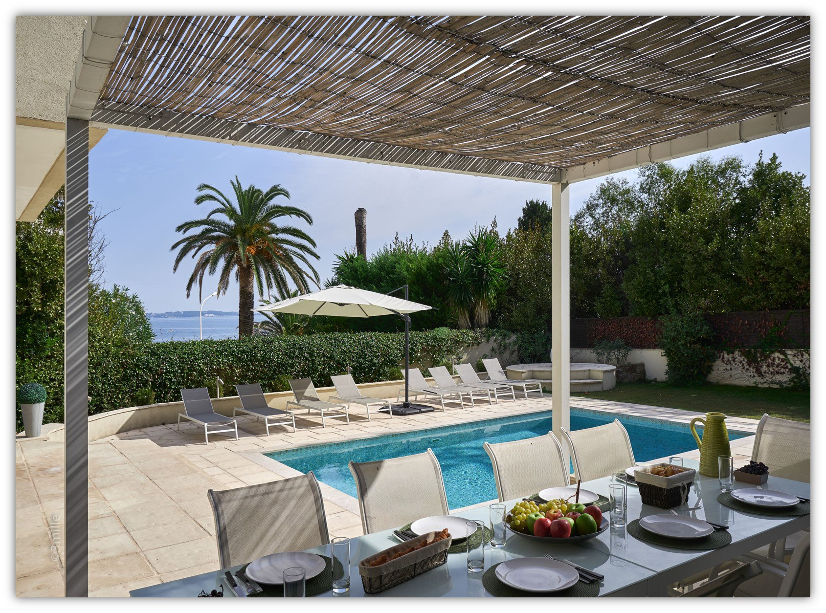 Villa - Cannes Palm Beach