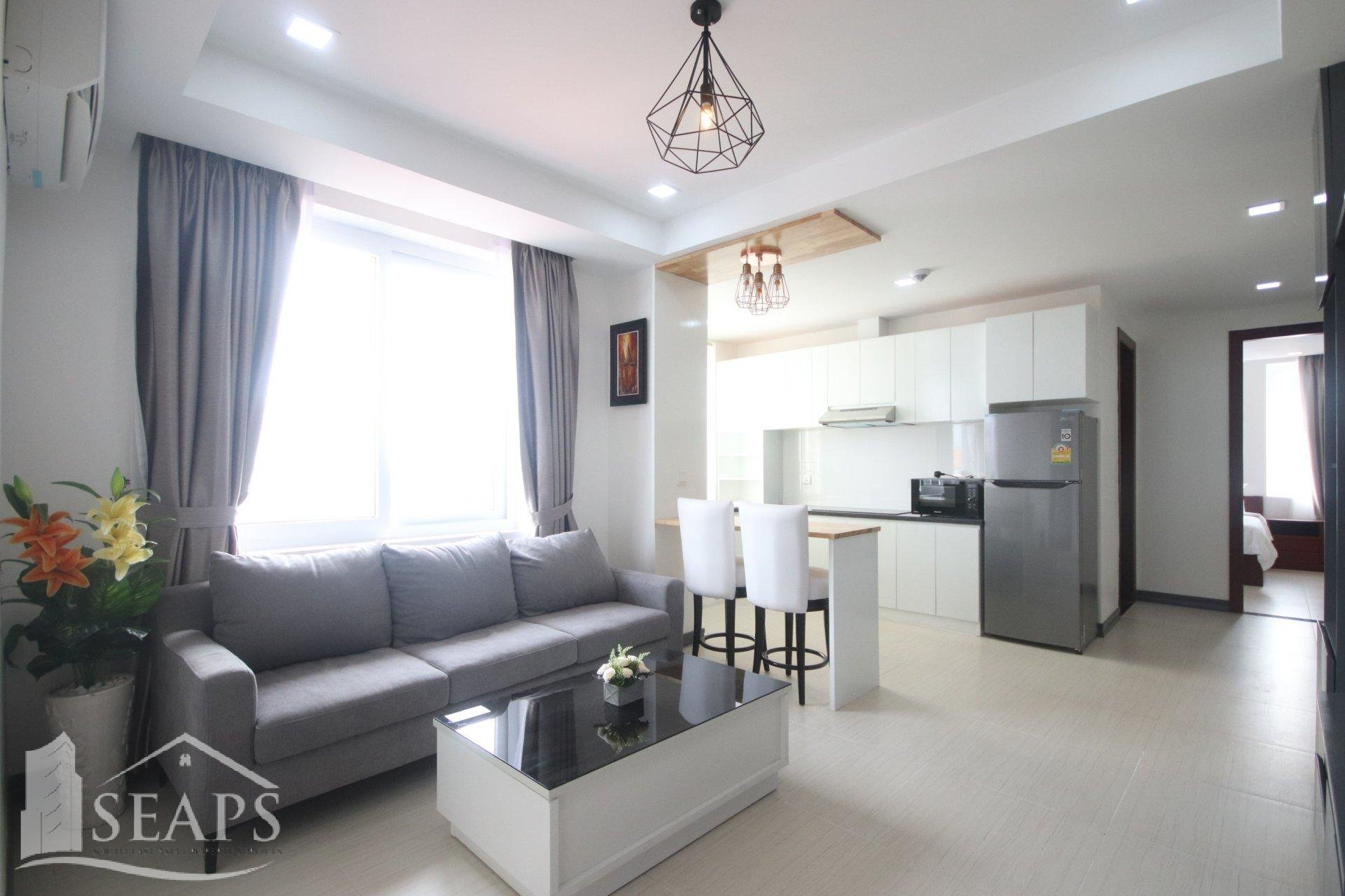 1 BED  - NEW APARTMENT - FOR RENT - TOUL TOMPONG