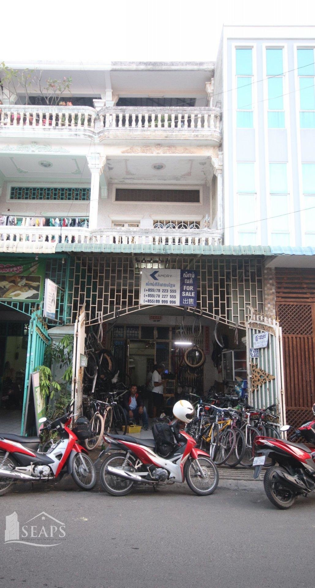 5 BEDROOM HOUSE - FOR SALE - TOUL TOMPONG AREA