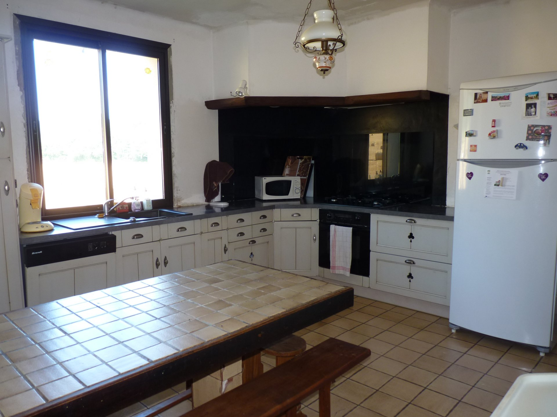 10 minutes from Aurignac, house of 140 m² on full basement