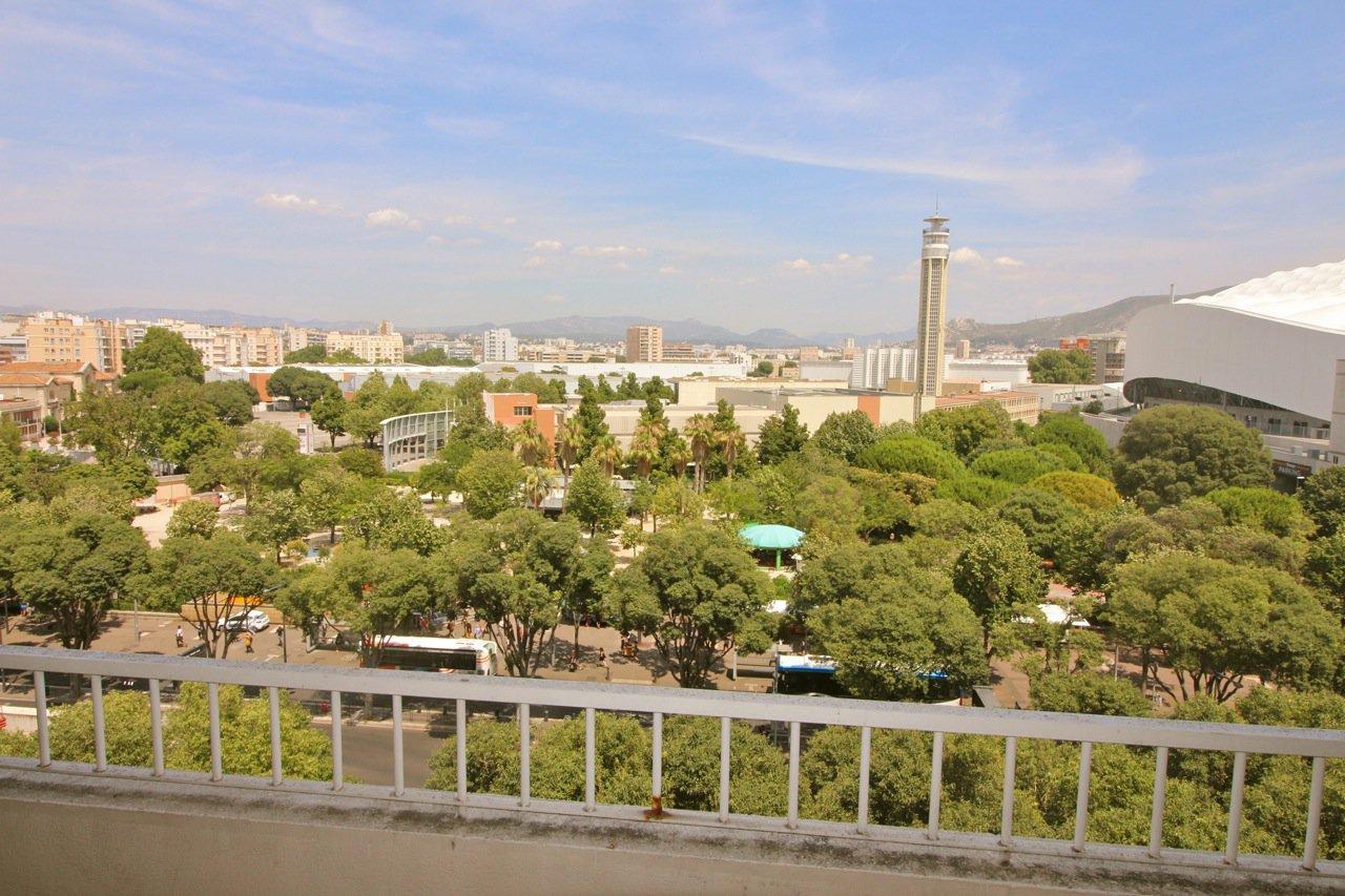Spacieux T3 avec vue et balcons/terrasse