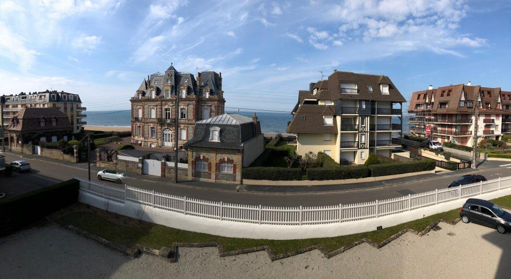 Cabourg, vue mer...