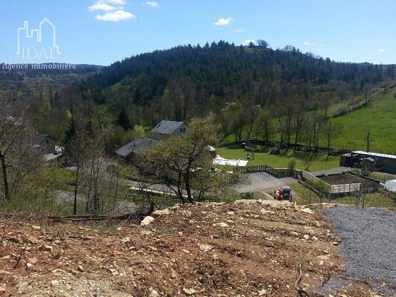 le Monastier:Terrain constructible 3 708 m²-Vue panoramique