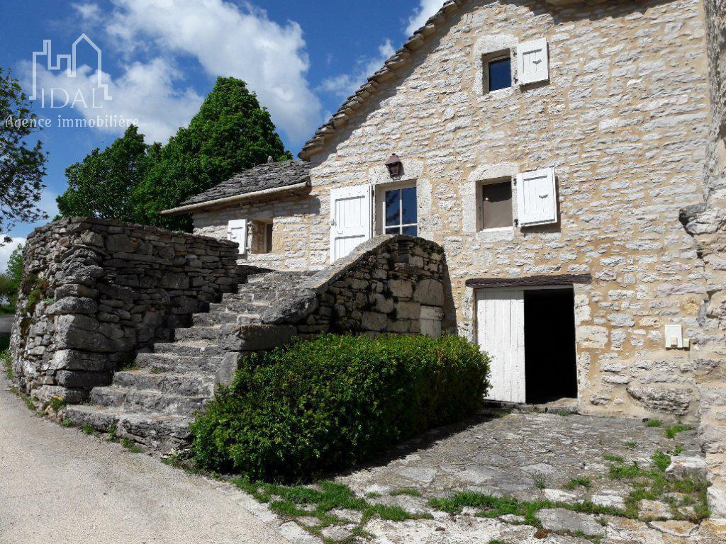 Soulage(Lozére)Maison caussenarde 146 m²