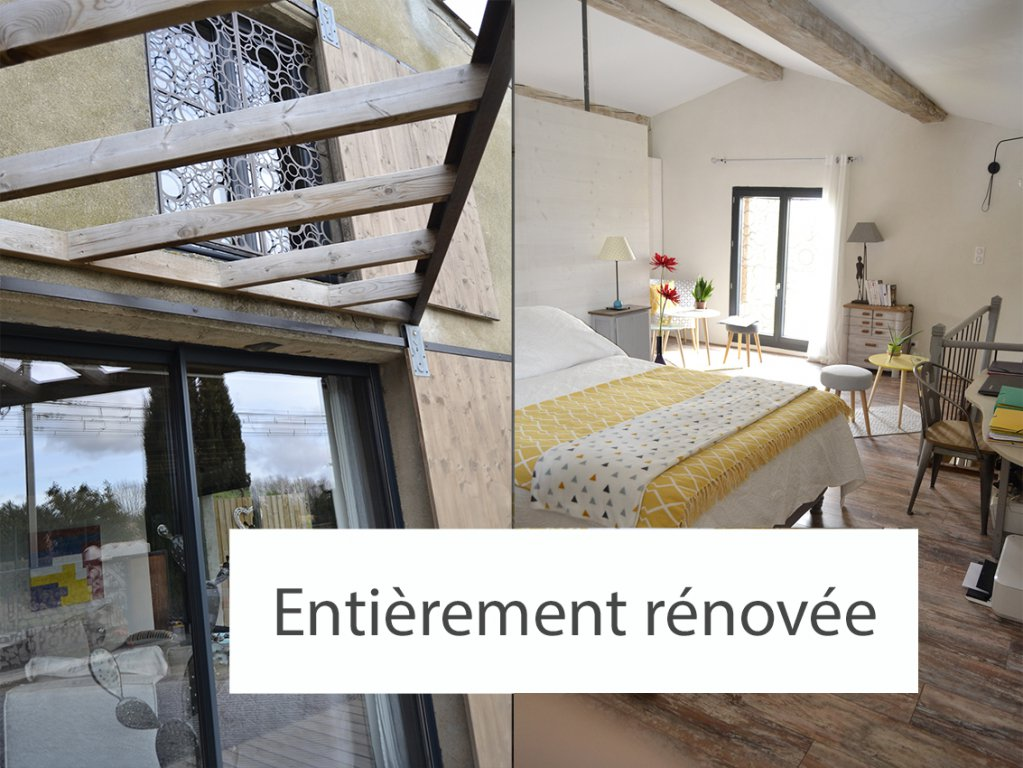 Loft 4 faces 135 m² + garage 36 m² sur terrain 835 m²