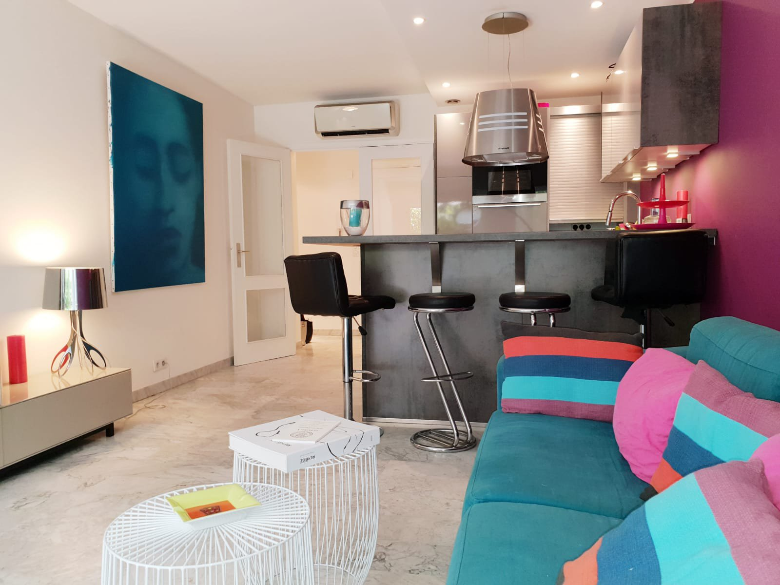 SELL CANNES 3 ROOMS GROUND FLOOR