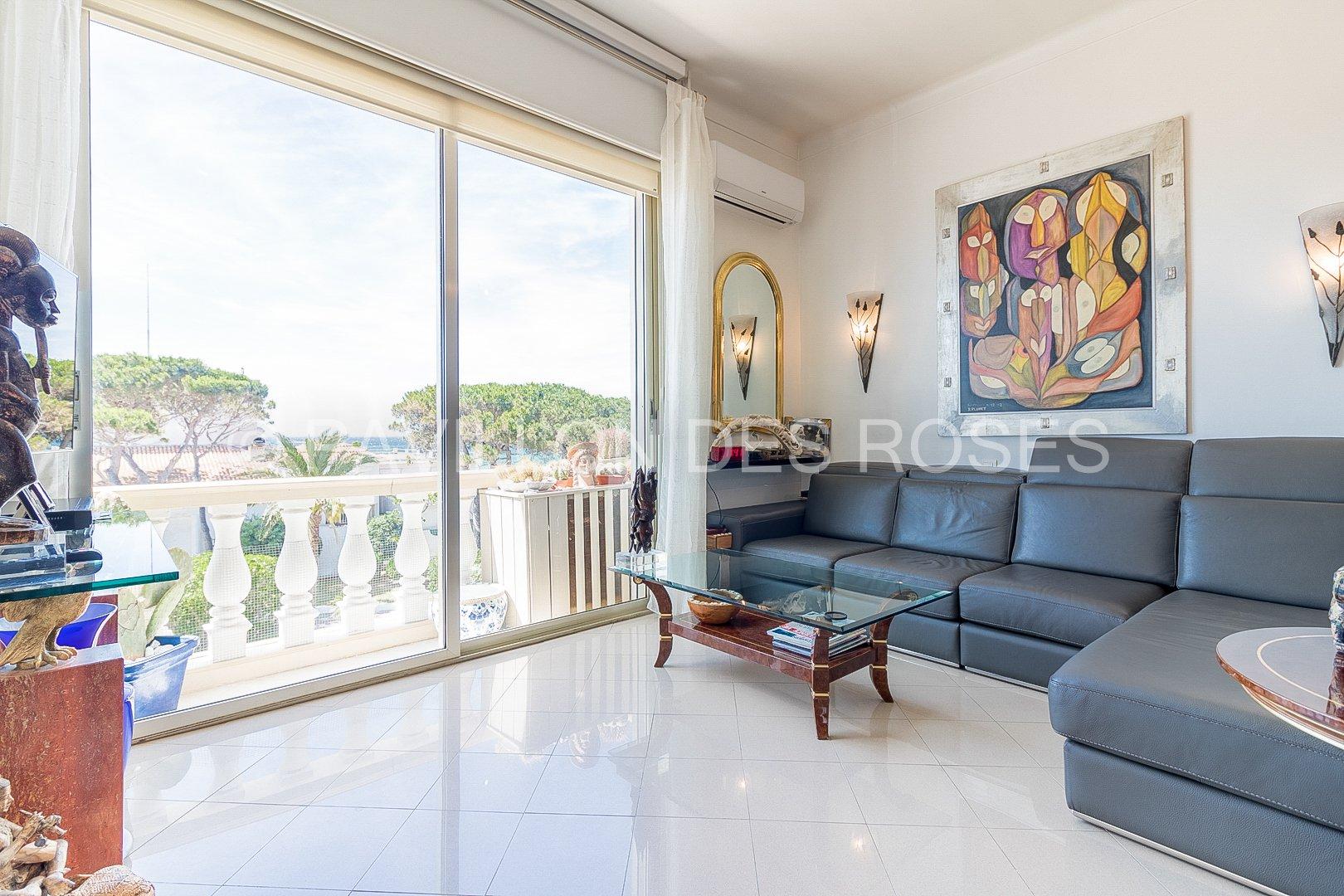 CANNES - Palm Beach - Sea view
