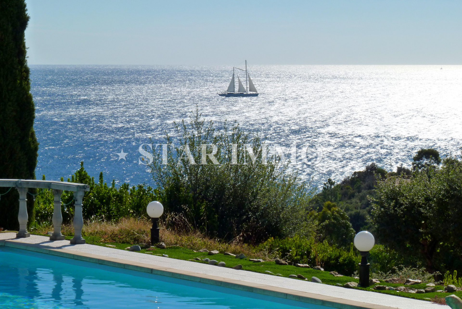 Villa vue mer plage à pieds