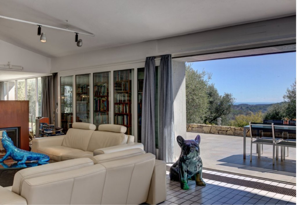 Architect villa with panoramic view