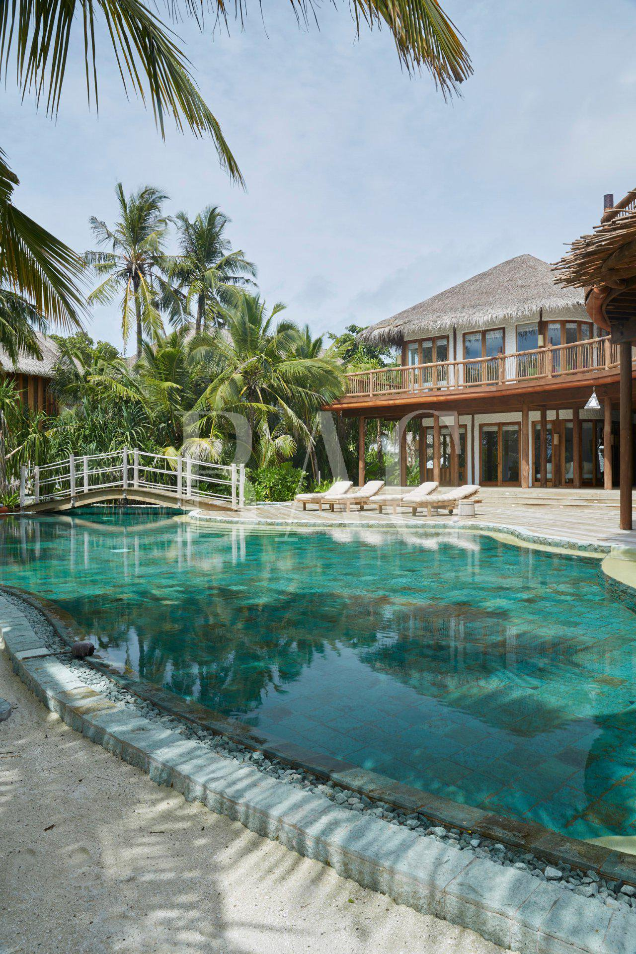 6 bedroom villa on an island in the Maldives