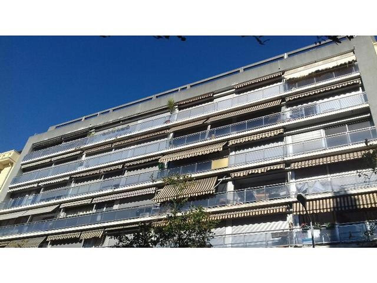 Gambetta / Franklin : standing , studio  35 m²  , terrasse 10 m2 vue verdure