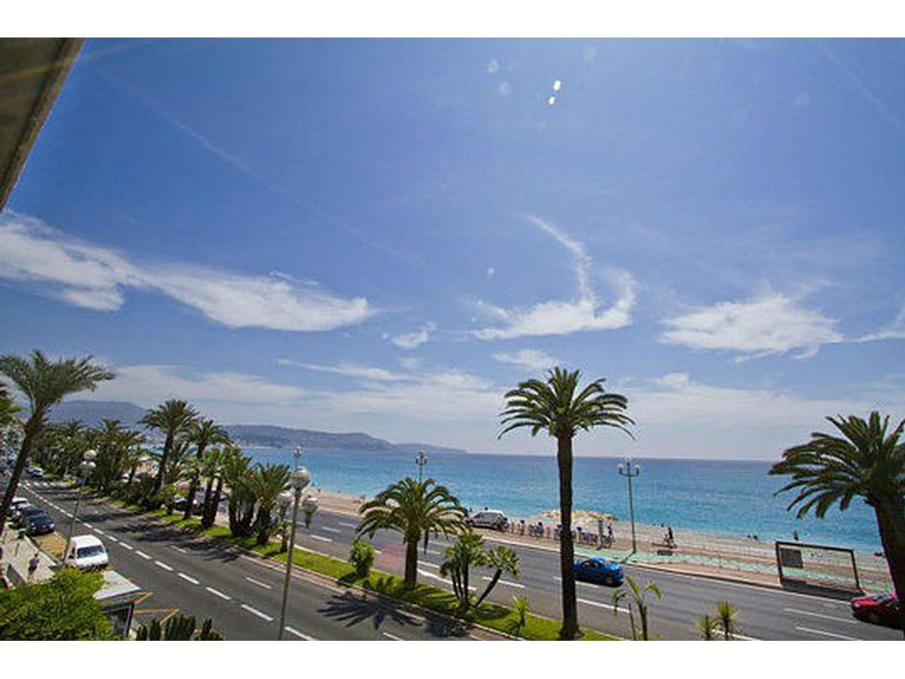 Promenade des anglais 3 pieces RDJ Terrasse/Vue mer
