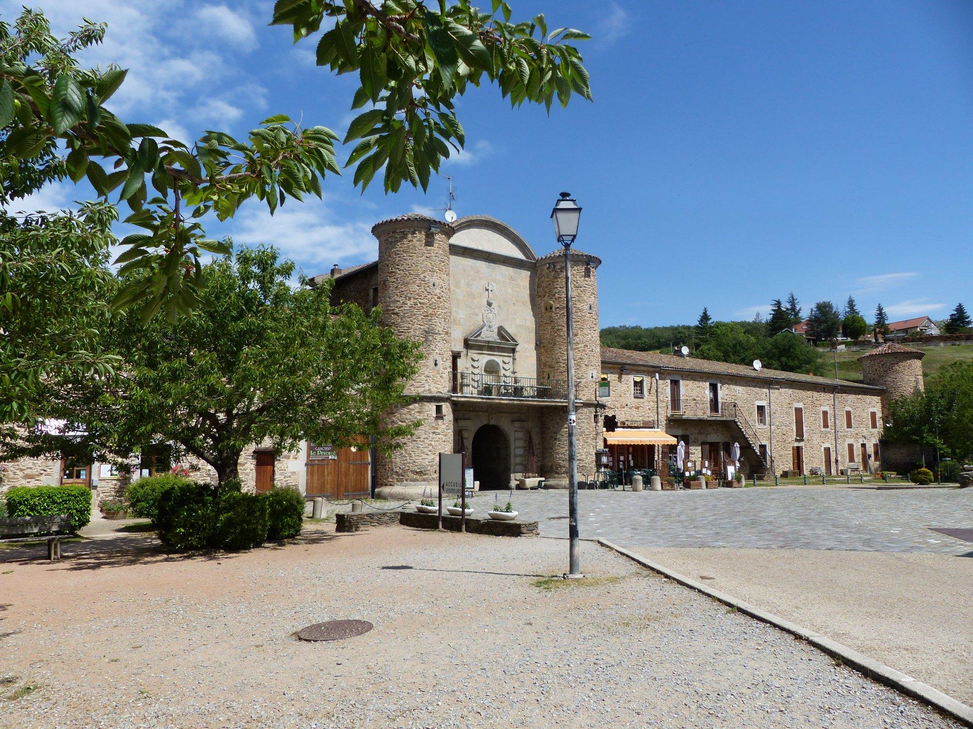 Maison au cœur de village historique