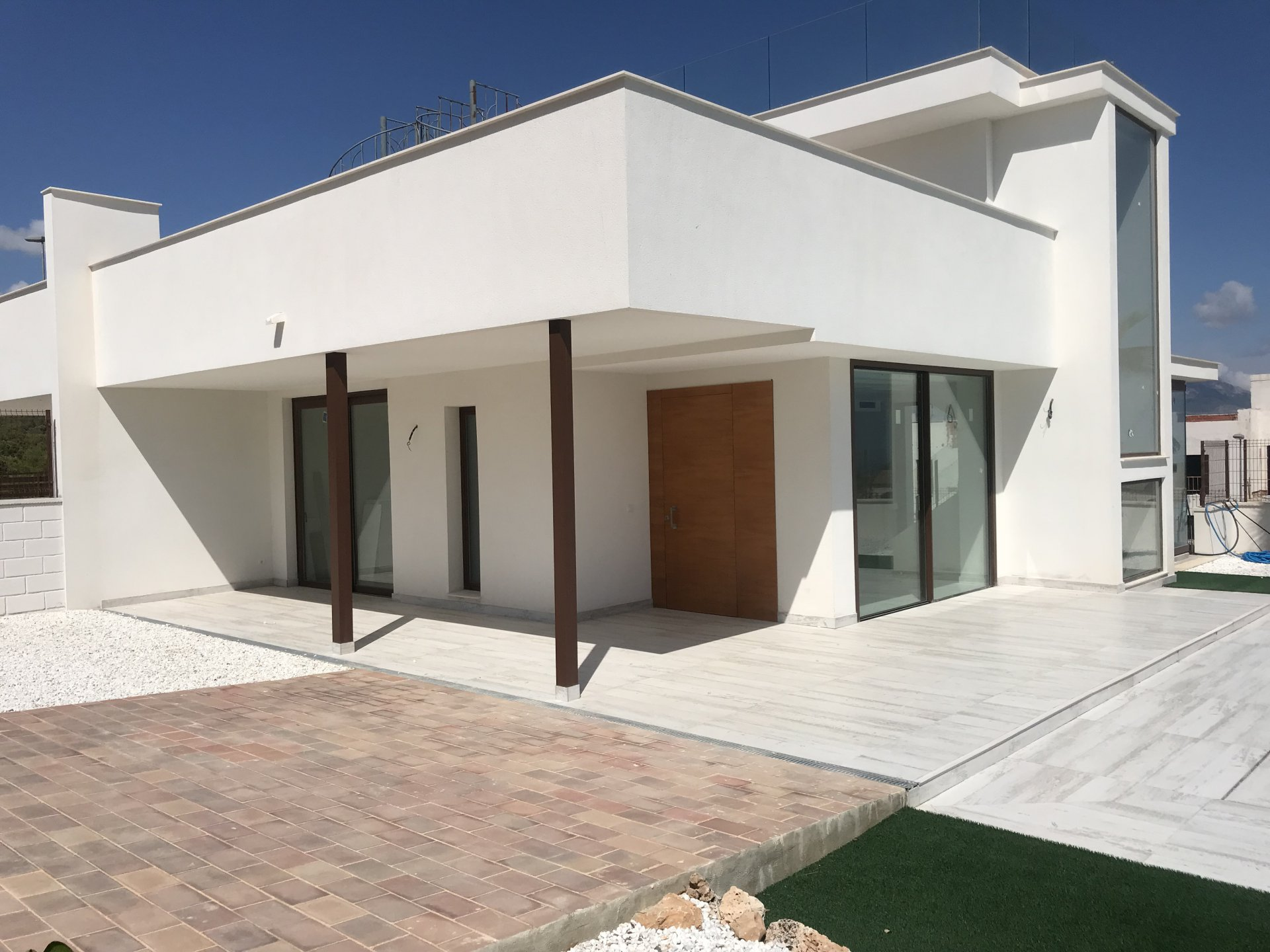 Modern style semi detached villa in Polop