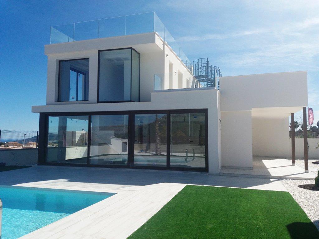 Villa jumelée de style moderne à Polop