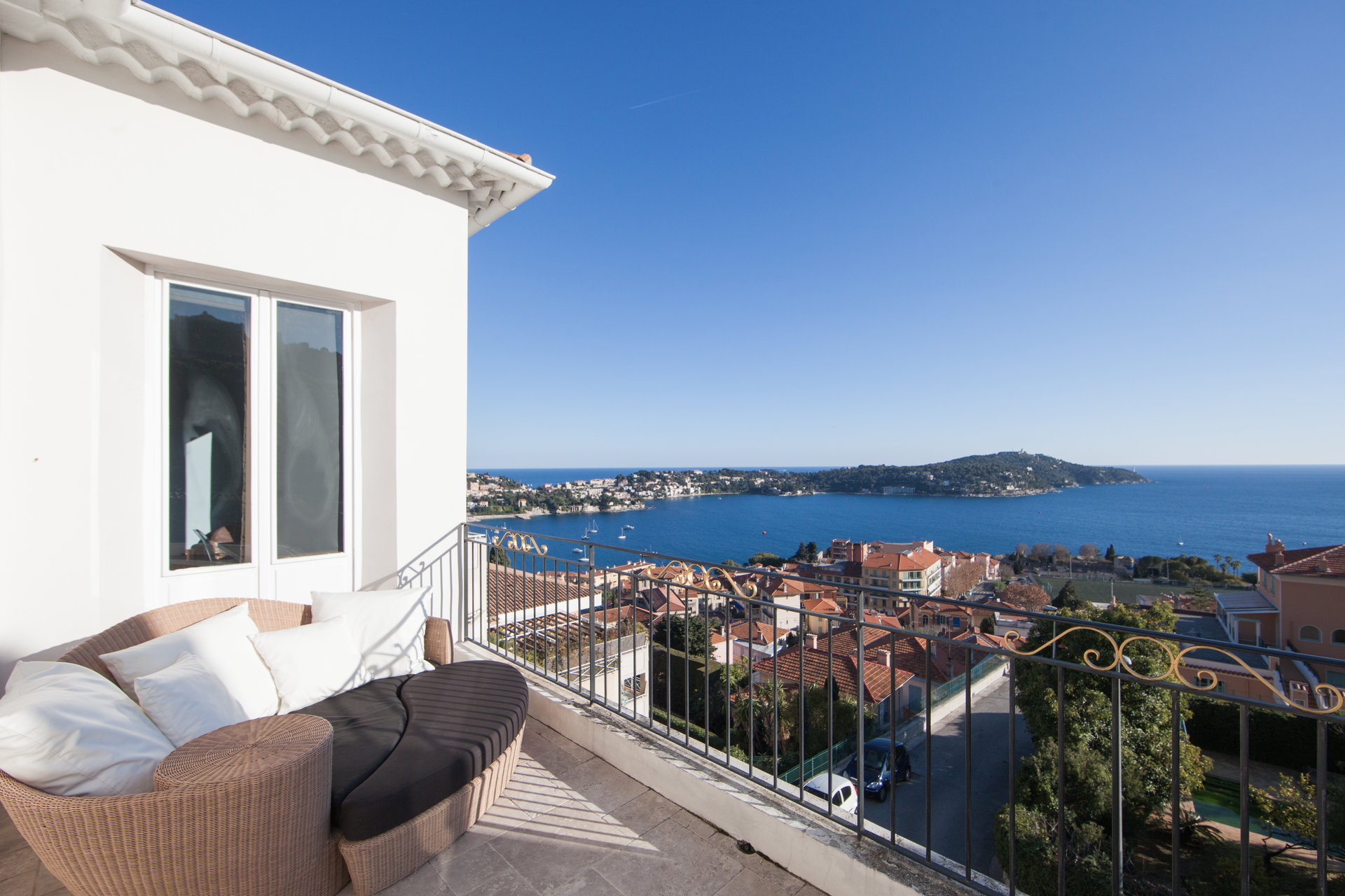 Villefranche-sur-Mer - Amazing villa with sea view near the beach