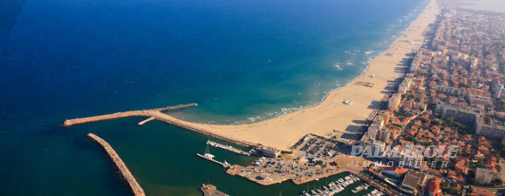 """PRESTIGE CANET"" Canet Plage T3 Terasse Standing"