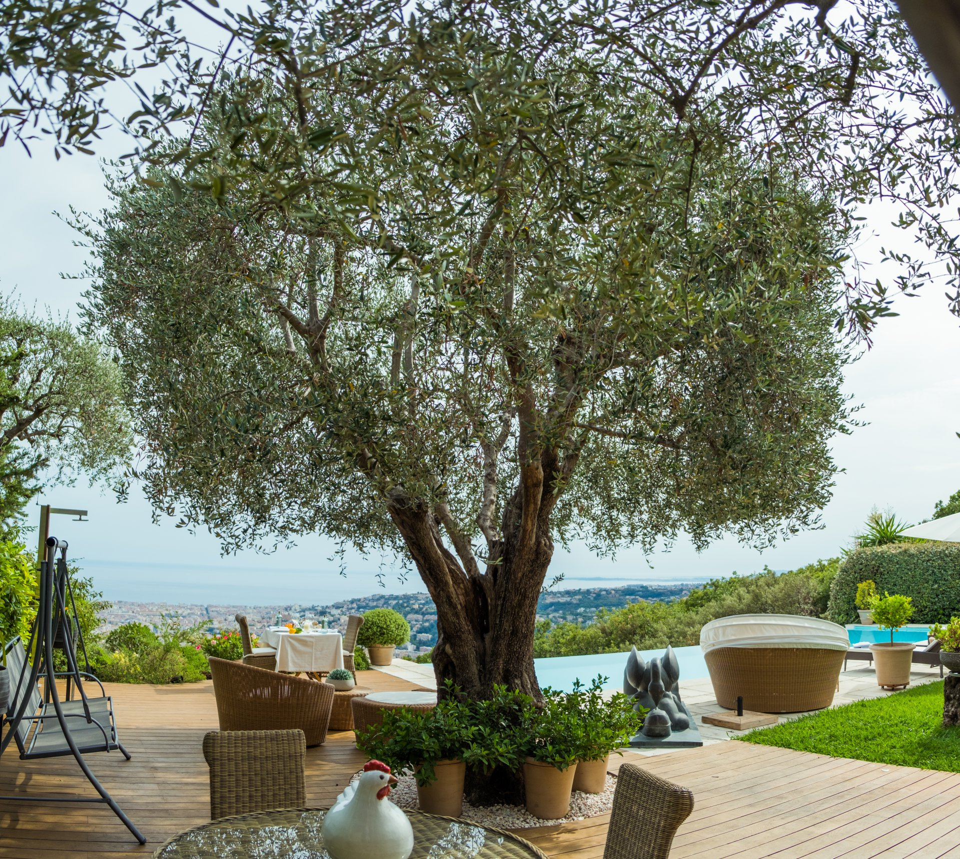 NICE GAIRAUT - Villa with swimming pool and sea view