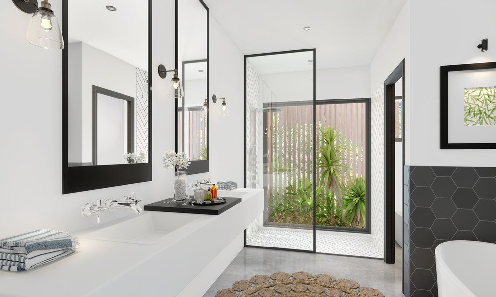 Apartment on the ground floor of a residence in Tamarin, Mauritius