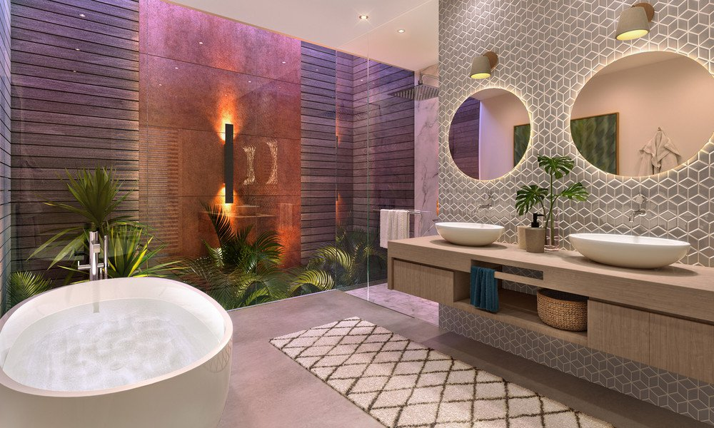 Apartment on the 1st floor of a residence in Tamarin, Mauritius