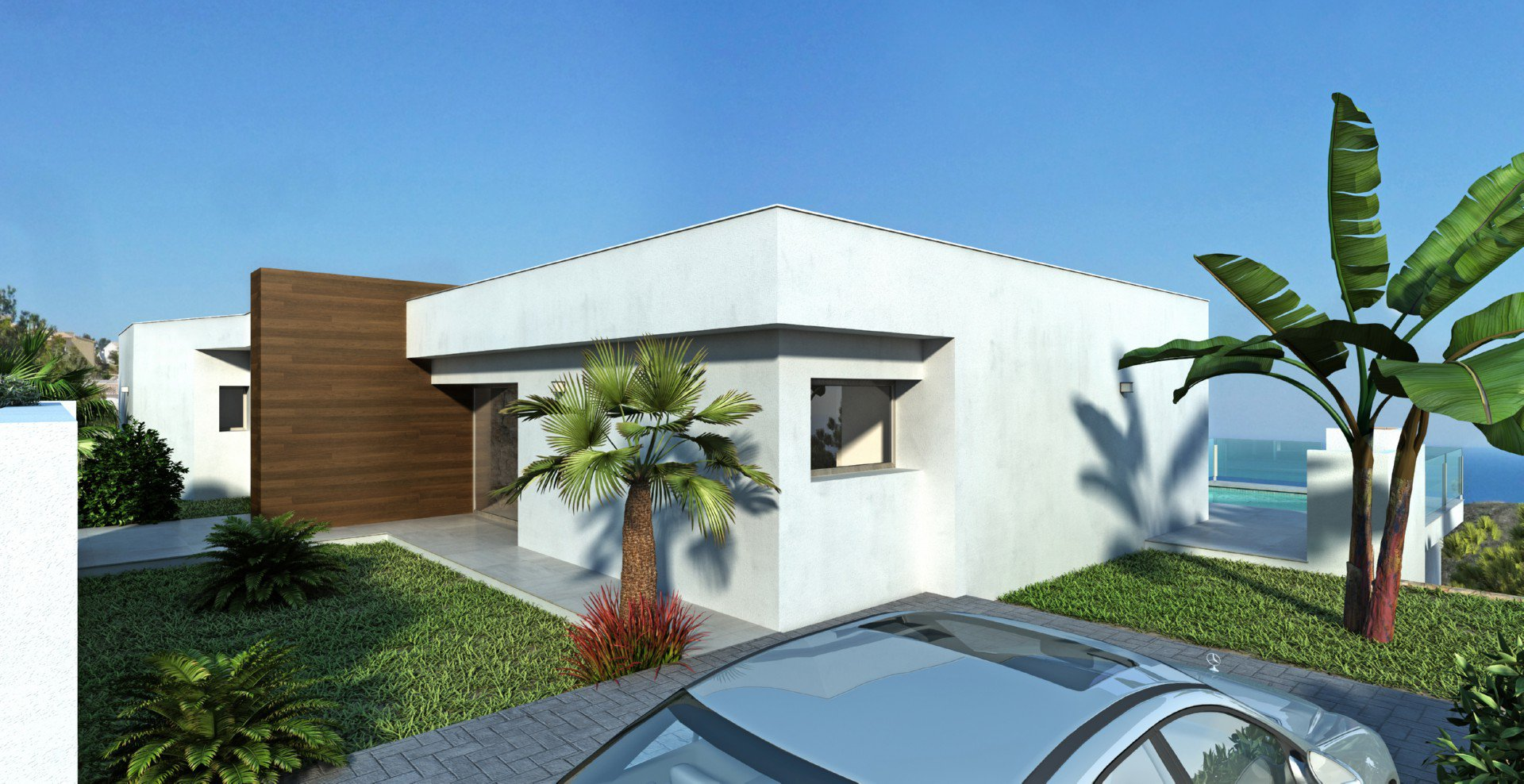 Villa exclusive avec un design moderne