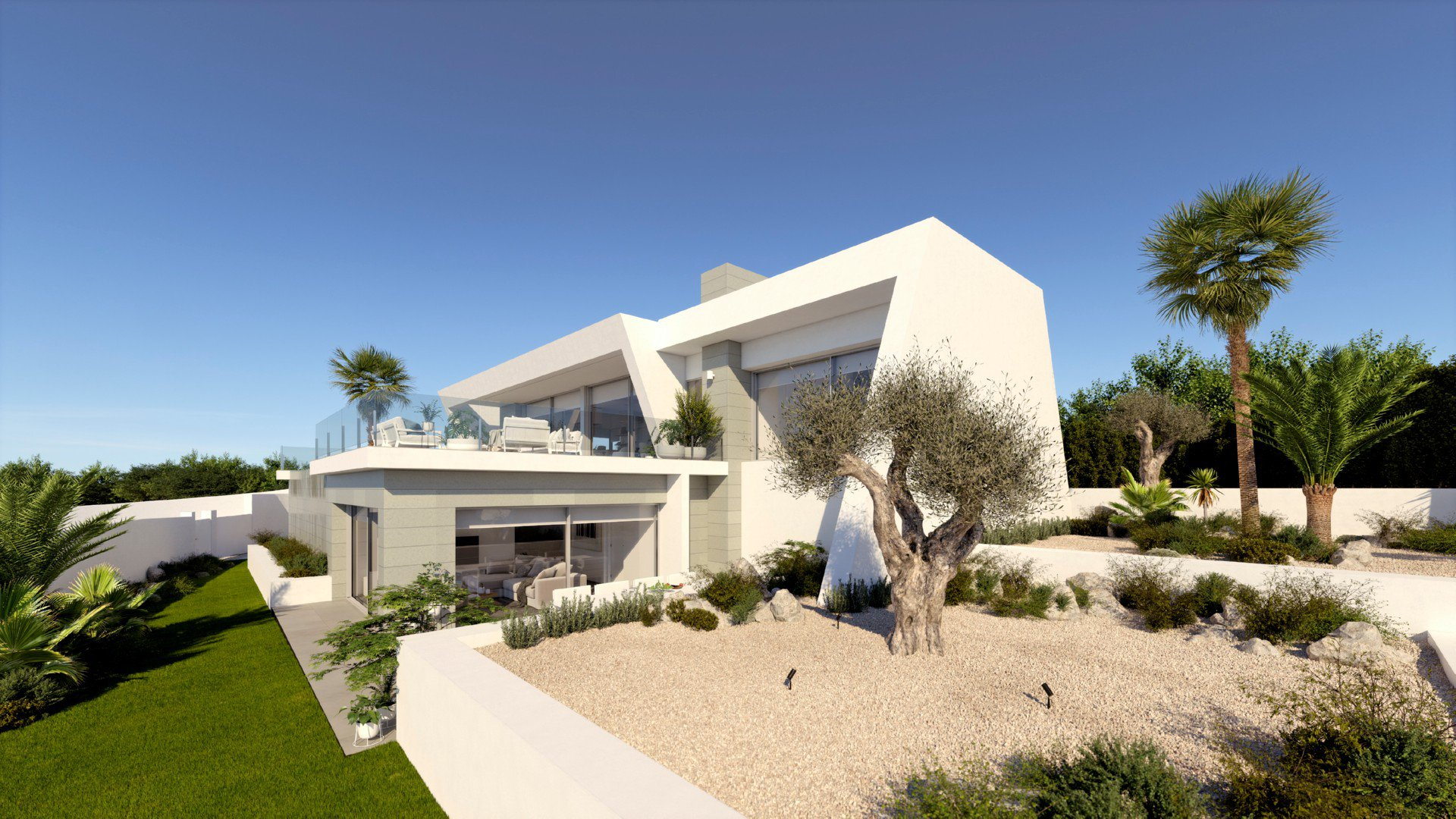 Villa in an exclusive area on Cumbre del Sol