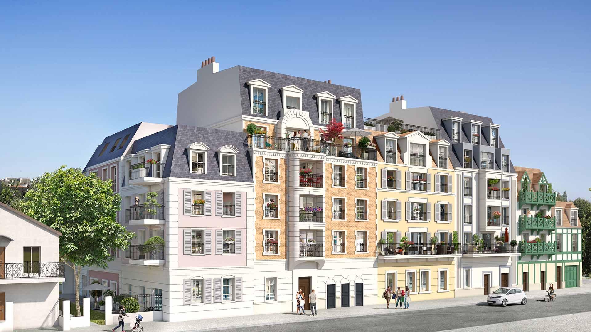 Programme Immeuble - Le Blanc-Mesnil