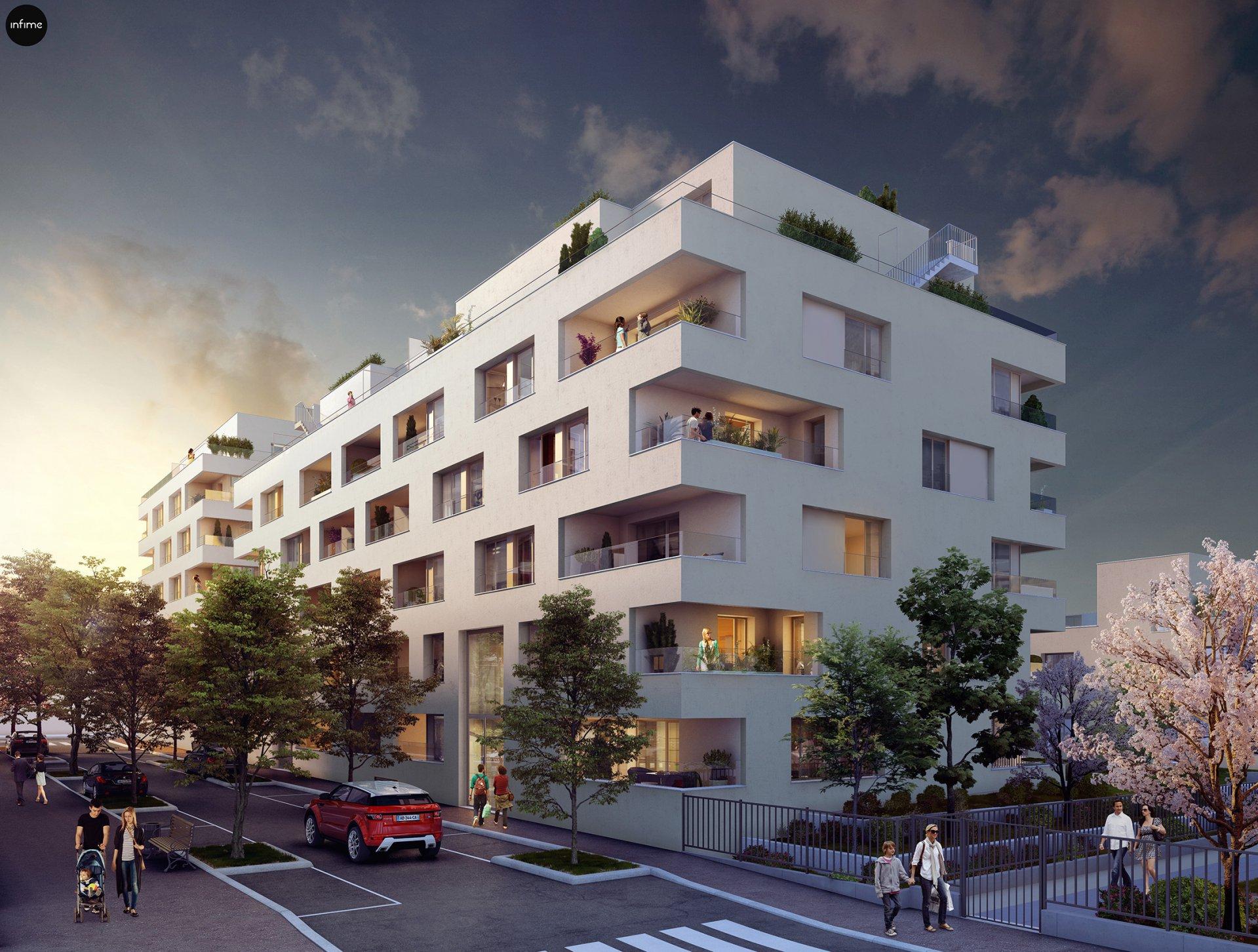 Programme Immeuble - Lyon 8ème